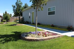 Maintained Flowerbeds - Idaho Falls Landscape Maintenance