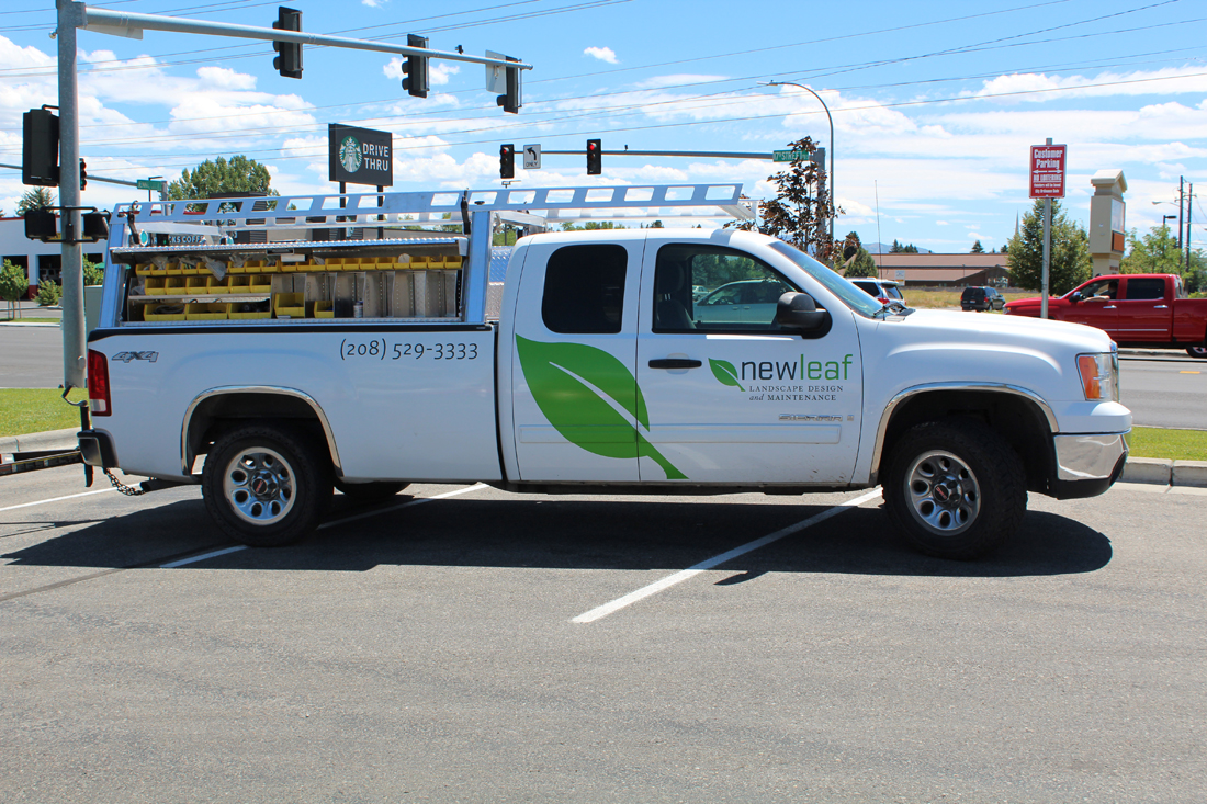 New Leaf Vehicle - Idaho Falls landscape Design