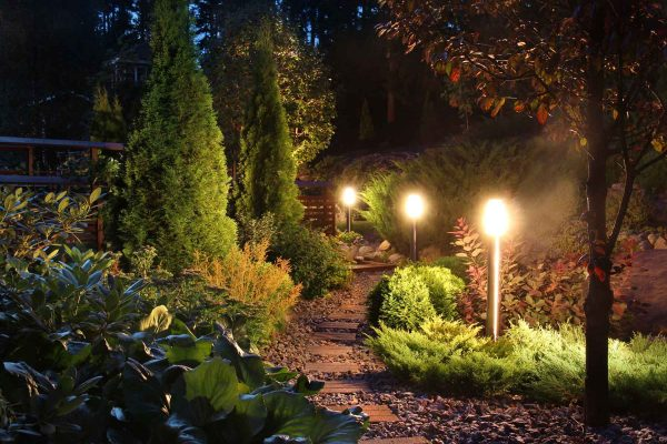 Outdoor Lighting - idaho falls lawn care