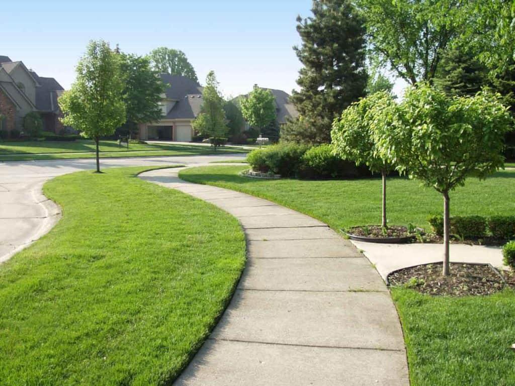 Sidewalk - Idaho Falls landscape Design