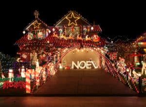 Holiday Light Decorations - idaho falls spring lawn care